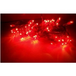 christmas red rice rope light 30 feet