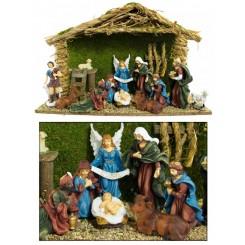 Christmas 13 Piece Crib Sets - 47cm