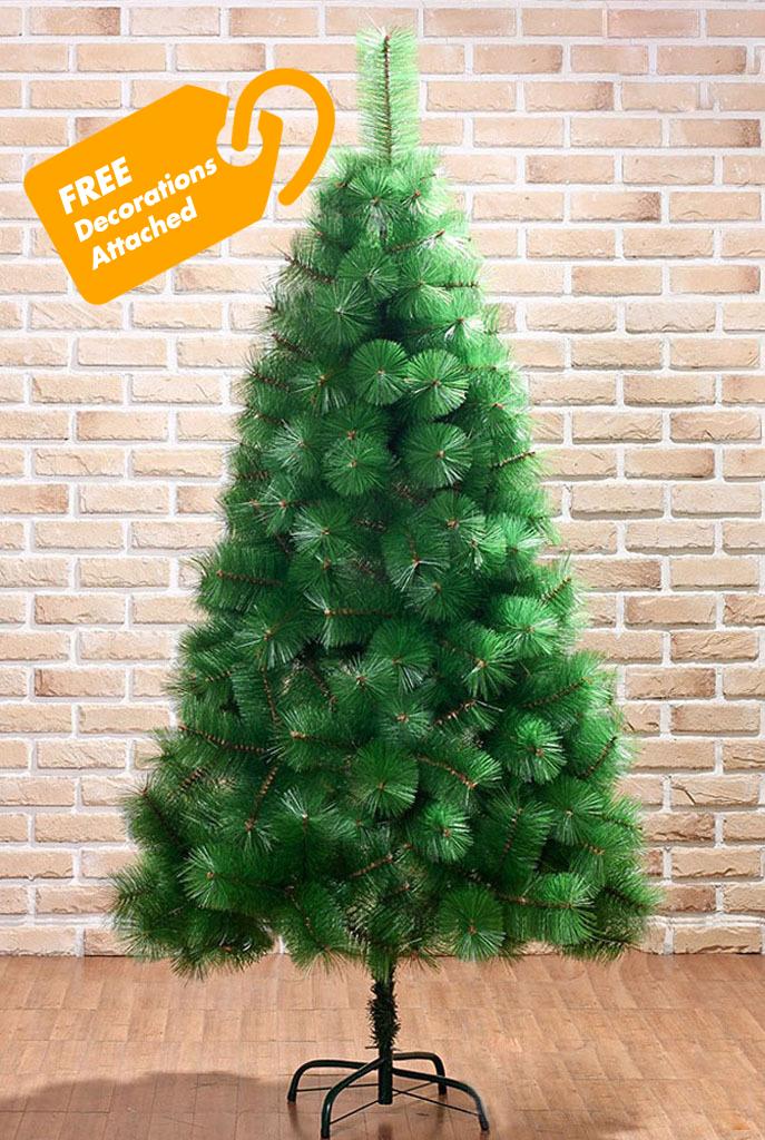 6 ft christmas tree with lights