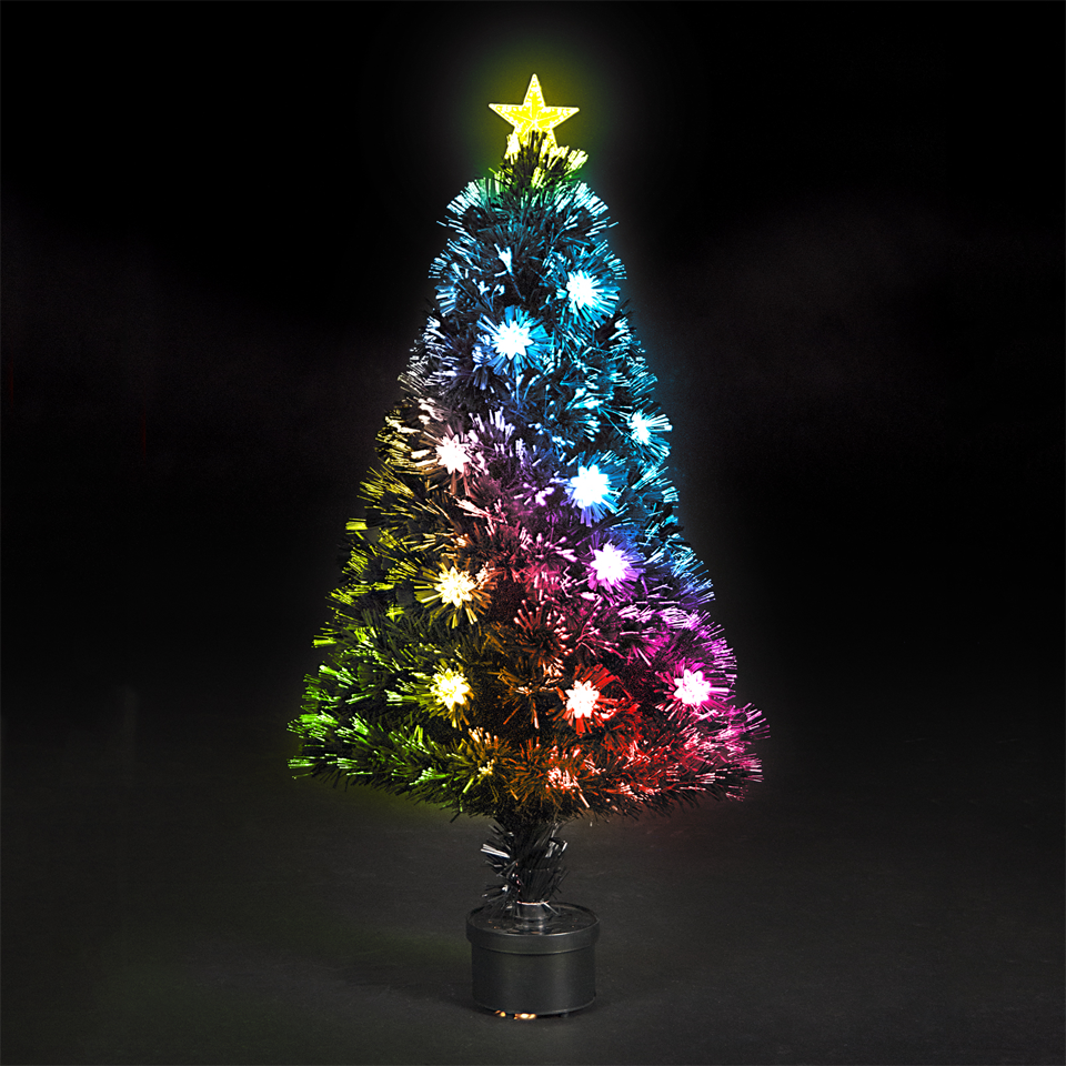 6 Feet Fiber Optic Artificial Christmas Tree | ChristmasTreeShops.in™