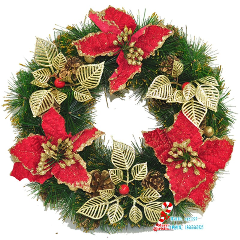 Merry Christmas Decoration Wreath Christmas Wreaths