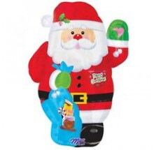 "Santa Junior Shape Foil Balloon - 18"""