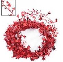15 Feet Red Tinsel Garland